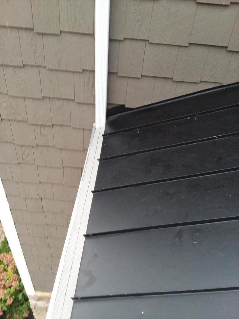 Custom Fit Gutter Protection Installation - After