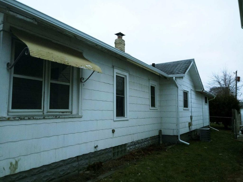 Fascia Replacement and Seamless Gutter Installation - After