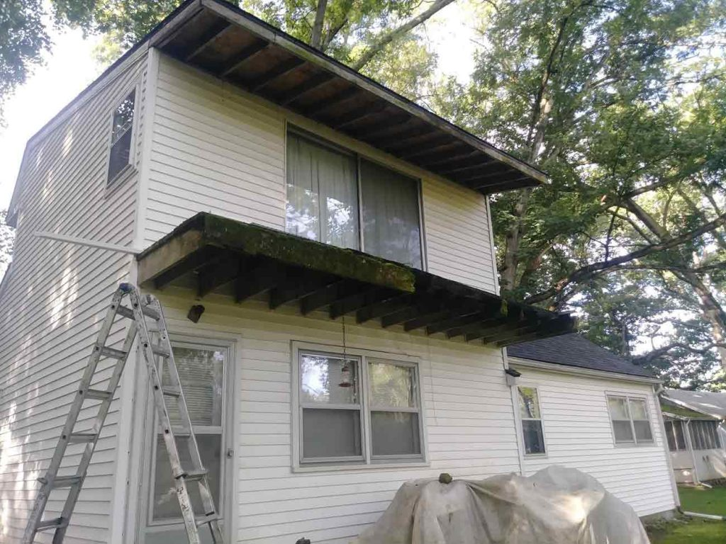 Guaranteed Gutter Protection Installation - Before