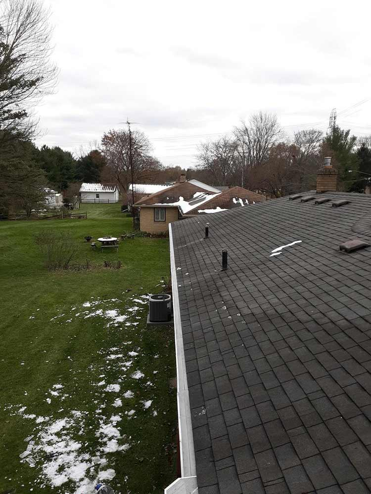 Gutter Covers Installed - After