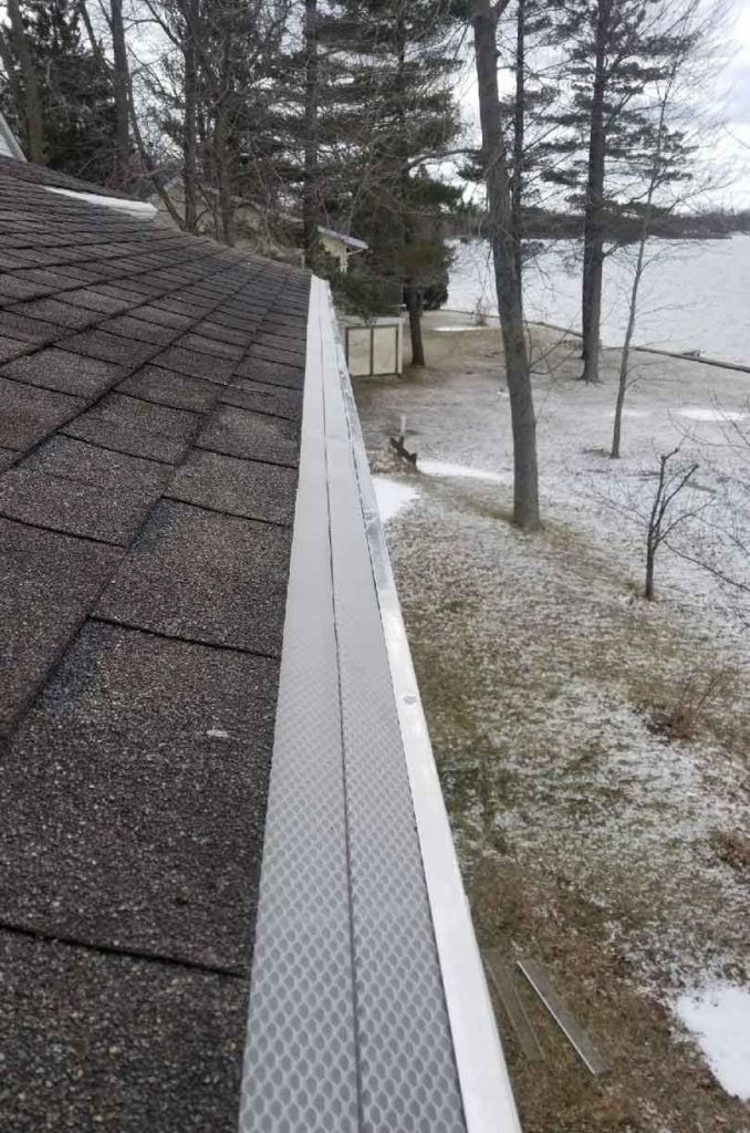 Gutter Guard Replacement - After