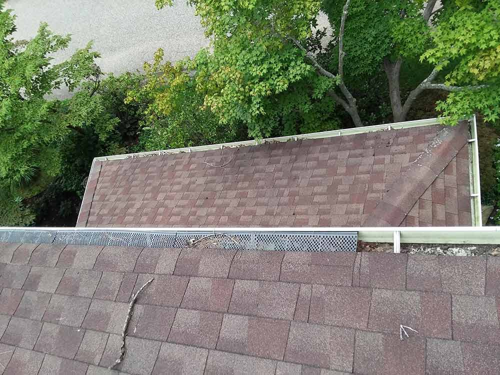 Gutter Guards Replaced - Before