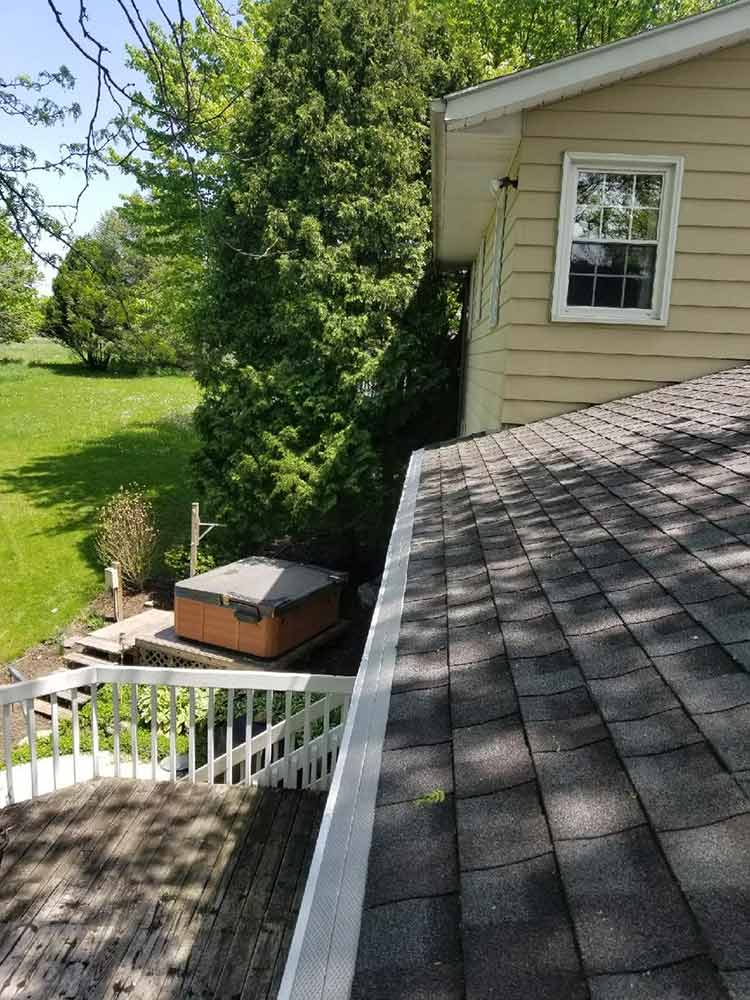 Gutter Guards Replacement - After
