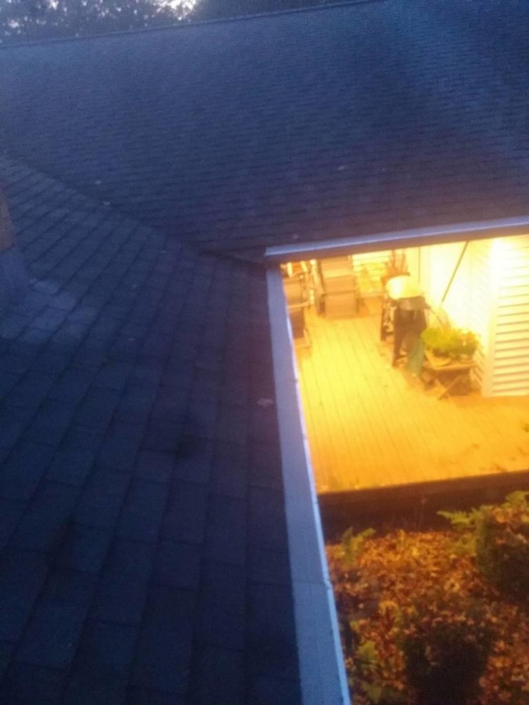 Gutter Protection Installation - After