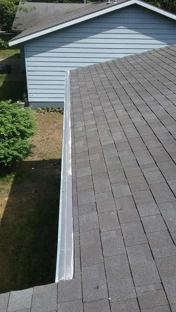Gutter Protection Replacement - After