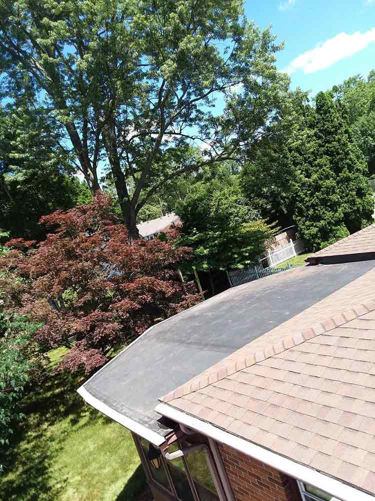 Gutter System Replacement - Before