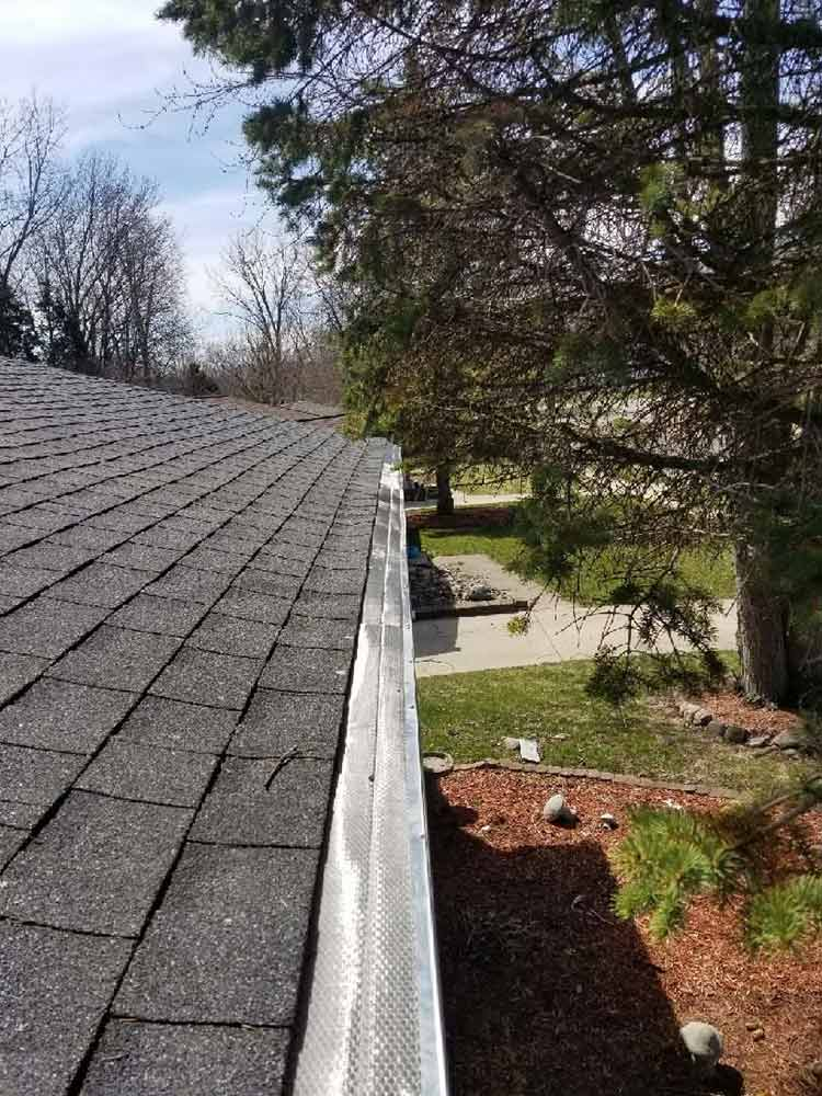 Home Gutter Guard Replacement - After