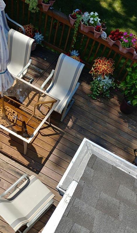 Home Gutters Leaf Guard - After