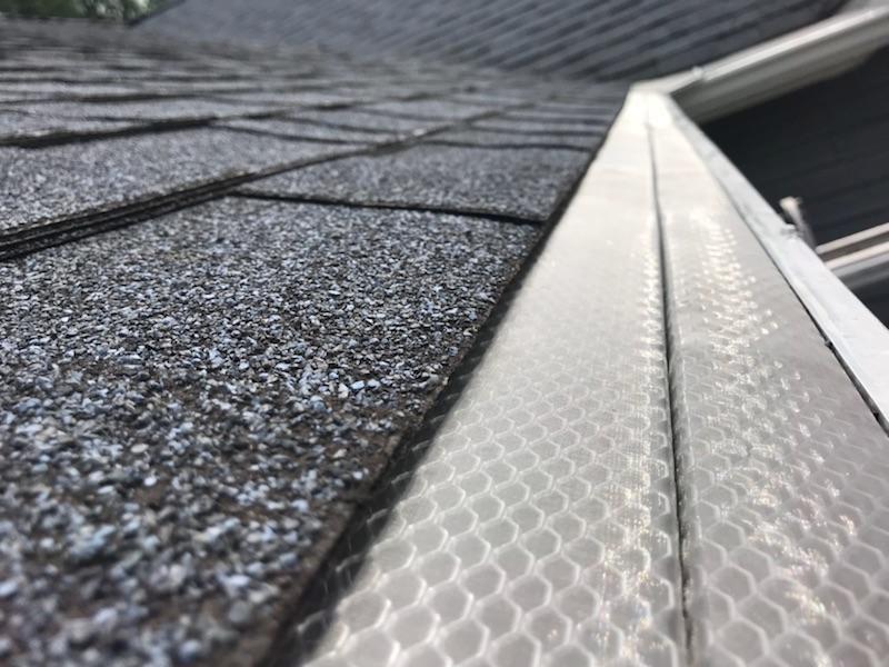 After / Home Leaf Guard Installation - After