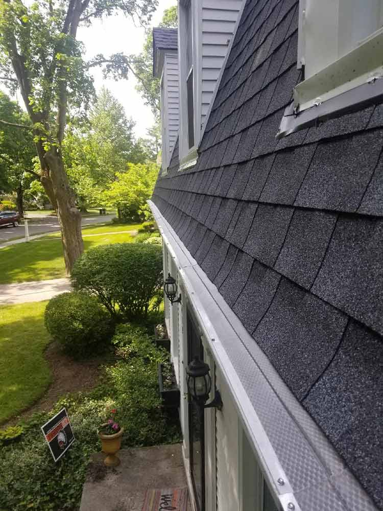 Home Leaf Guard Replacement - After