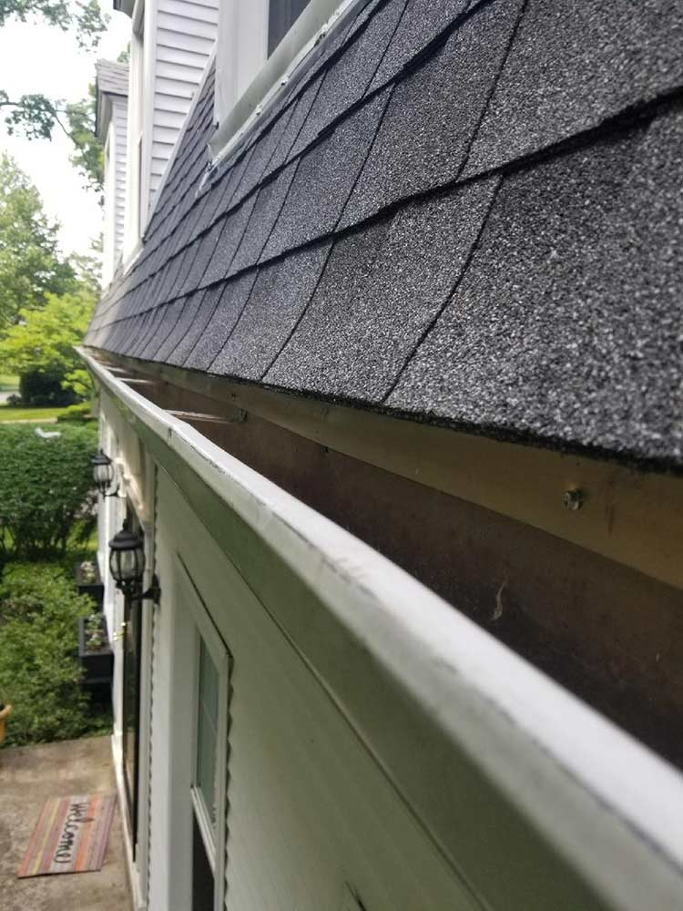Home Leaf Guard Replacement - Before