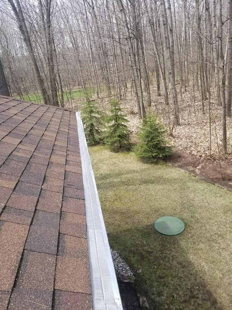 House Leaf Guard Installation - After