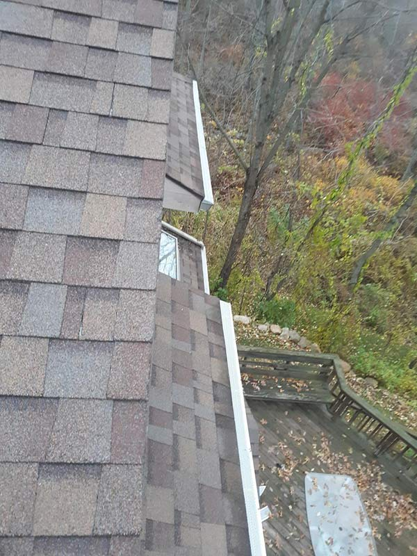 Installing Home Gutter Protection - After
