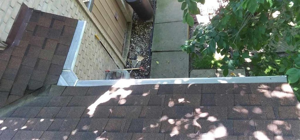 Klean Gutters Replaces LeafFilter - After