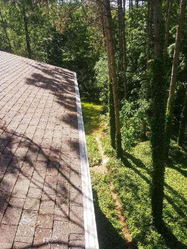 Leaf Guard Gutter Protection Installed - After
