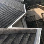 Multiple Roof Valleys Gutter Installation