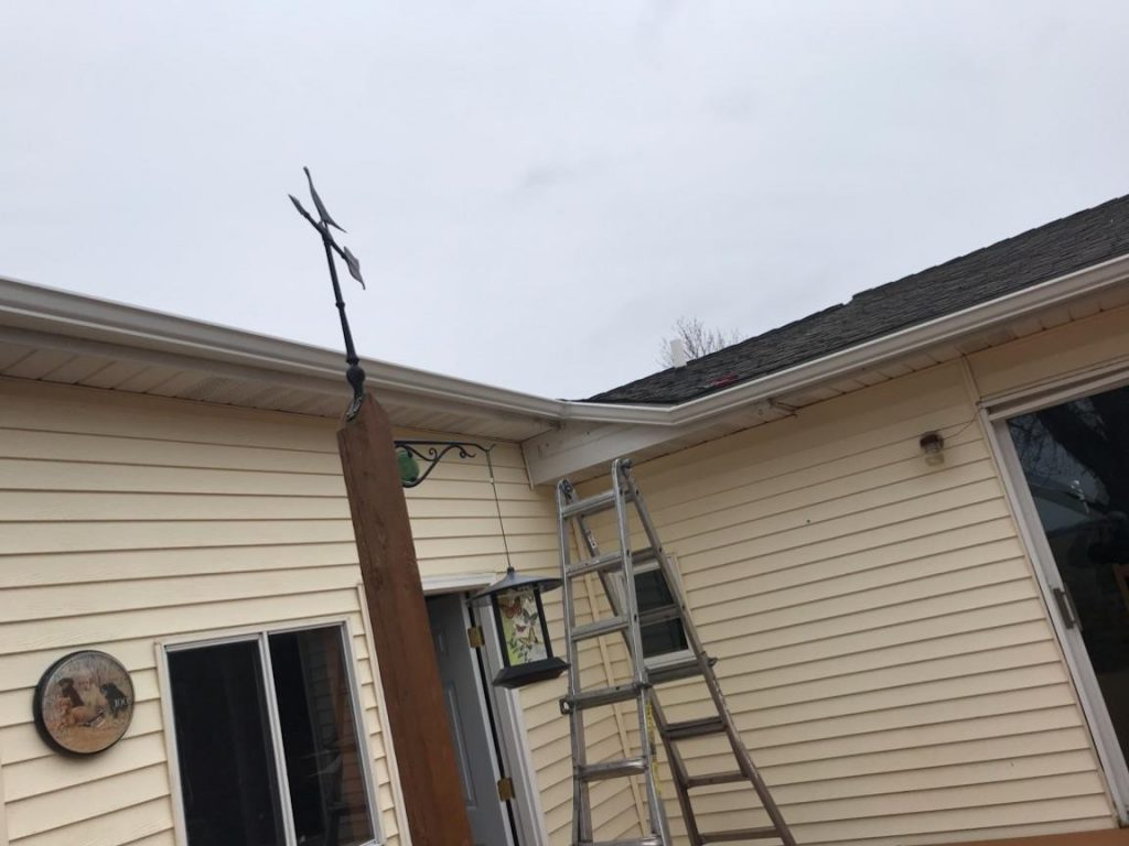 New Seamless Gutters - After