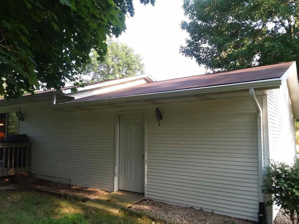 Seamless Gutters and Gutter Protection - After
