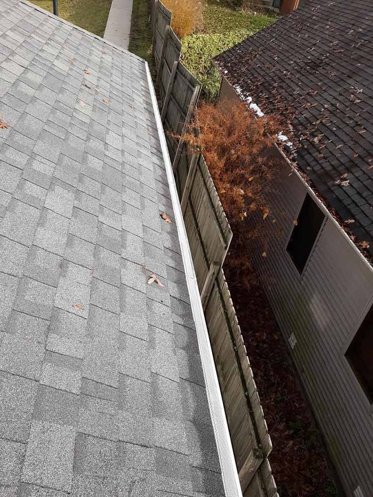 Stainless Steel Gutter Guards - After