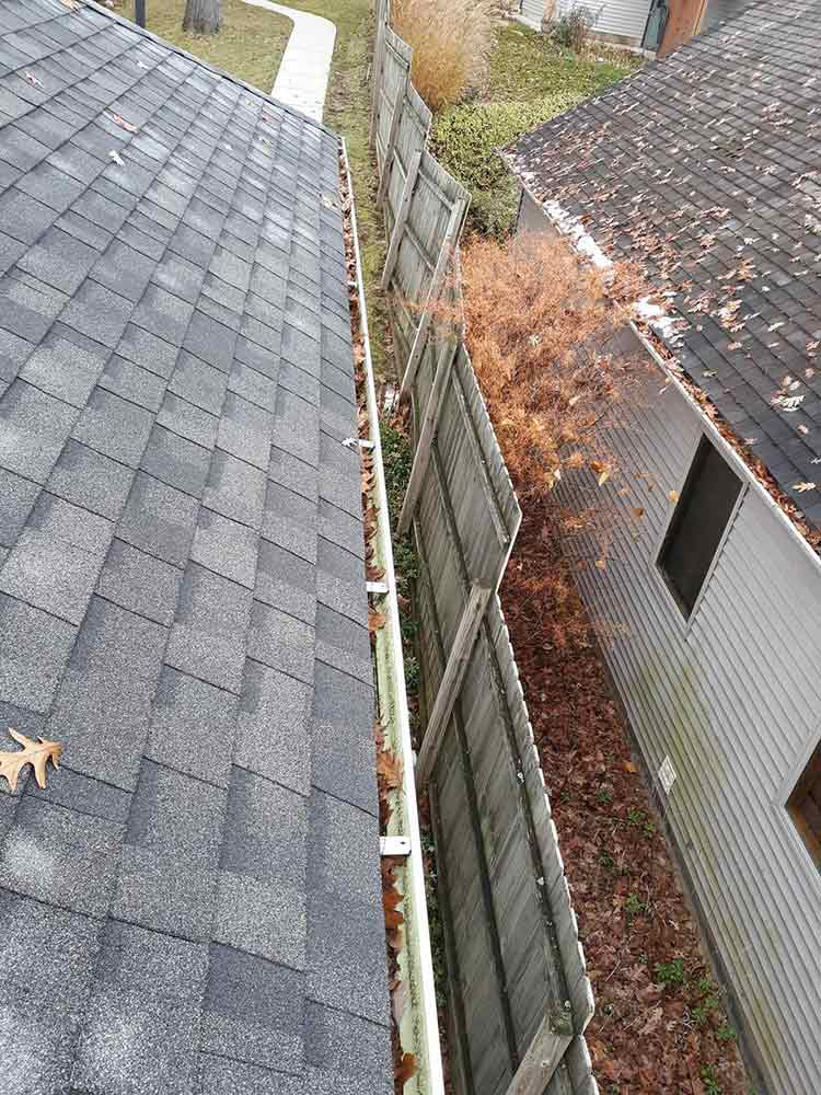 Stainless Steel Gutter Guards - Before